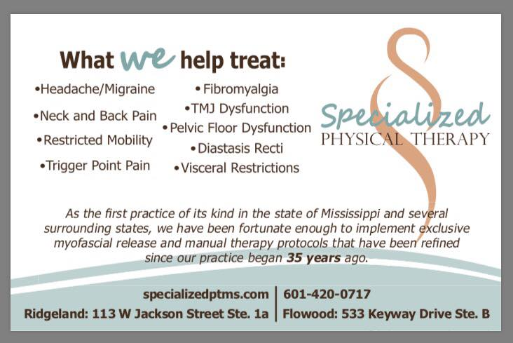 Specialized Physical Therapy – Flowood Clinic
